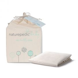 Naturepedic Organic Waterproof Crib Protector Pad – Fitted
