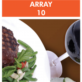 Array 10 – Multiple Food Immune Reactivity Screen
