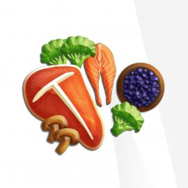 Vibrant Wellness Food Sensitivity Profiles 1 and 2 (180 foods)