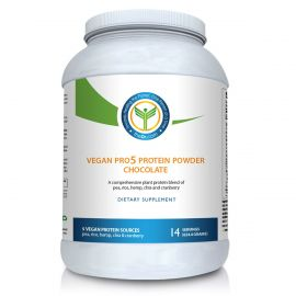 Vegan Pro 5 Protein Powder Chocolate – 14 svgs