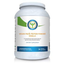 Vegan Pro 5 Protein Powder Vanilla - 14svgs