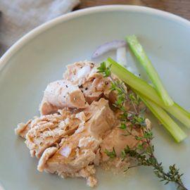Canned Albacore Tuna w/ olive oil & salt 6oz 6pk