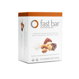 Fast Bars Nuts & Cacao Chips | Box of 10